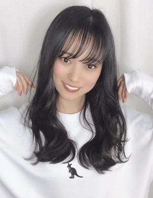 綺麗で大人かわいい透明暗髪カラー(MZ-1)