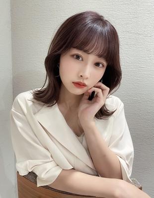 顔周りが可愛い◎韓国くびれミディ(hm-3)