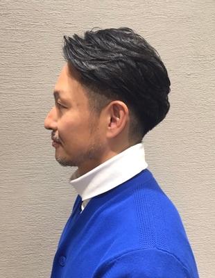 40代デキる男の御用達☆大人の七三スタイル(ko-49)