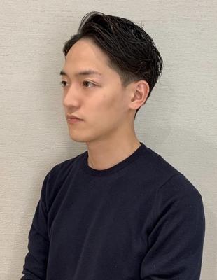 30代・40代爽やかメンズビジネスヘア(ko-95)
