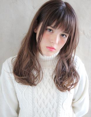 Aラインでモテカワ巻き髪スタイル(TK−75)