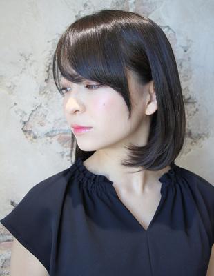小顔にはサイドに髪の毛が大切(TK−212)