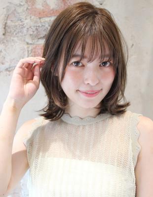 耳にかけてもかわいい前髪の作り方(TK−228)