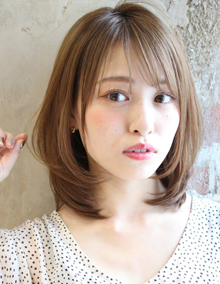 耳かけも小顔は絶対!ひし形スタイル(TK−429)