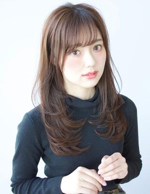 前髪印象が変わる!!2wayバングと【美レイヤー】(TK−491)