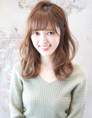 ゆるふわ巻き髪風パーマ/前髪パーマ(TK−534)