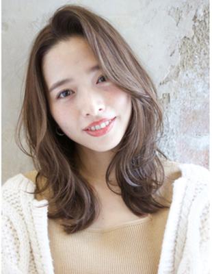イルミナカラー【ヌーディベージュの色気レイヤーかきあげ女子】(TK−370)