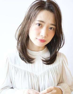【レイヤー★】×【イルミナカラー透明感アッシュ】(TK−438)