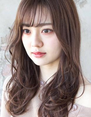 【梅雨の時期】対策バッチリ!「巻き髪長持ち」ヘア(TK−460)