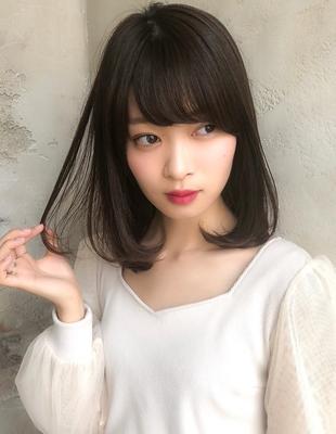 大人かわいいワンカール◎小顔前髪(NT-9)