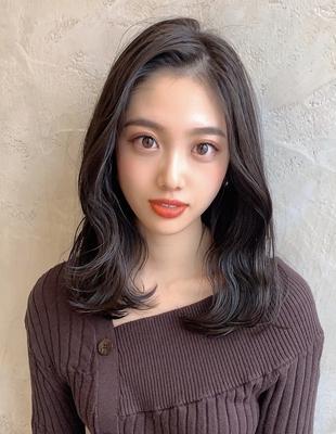 暗髪美人ヘア (OK-19)
