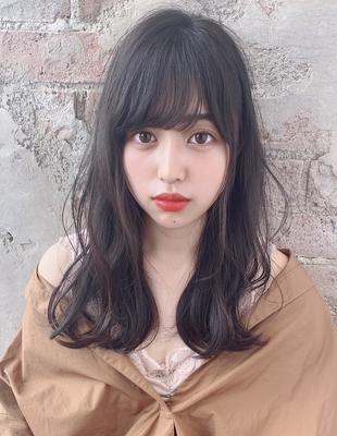 暗髪 ゆるふわデジタルパーマ  (OK-22)