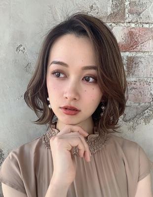 前髪トップふんわりひし形シルエット  (OK-73)
