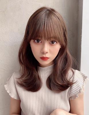 大人可愛い韓国風ヘア  (OK-110)