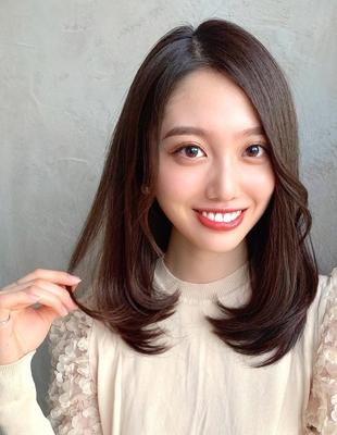 20代30代40代暗髪大人きれいヘア 新宿 (OK-142)