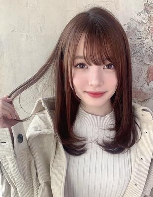 20代30代40代似合わせレイヤーモテ髪スタイル  (OK-165)