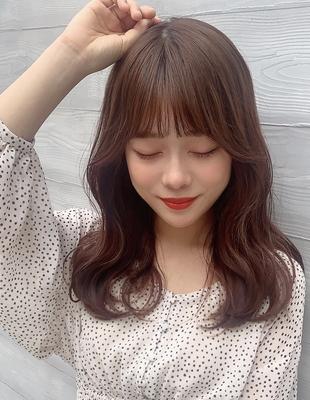大人可愛い韓国風内巻きヘア  (OK-169)