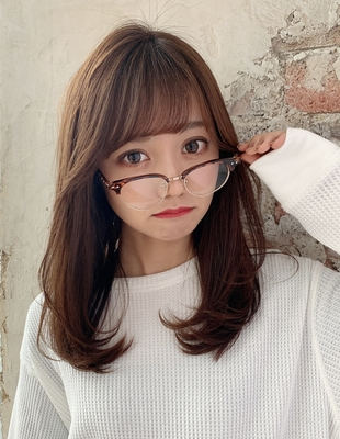 20代30代40代大人可愛いモテ髪レイヤースタイル 新宿美容室 大沢かおり(OK-212)