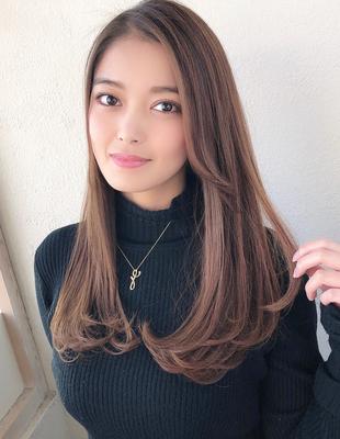 美しいセミロングワンカールスタイル☆(KH-03)