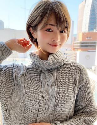 新宿 大人可愛い20代30代40代ショートボブ丸みショート◎【IK73】