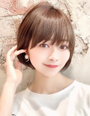 新宿アフロート 20代30代40代50代 大人可愛い小顔ショートボブ◎ 【IK110】