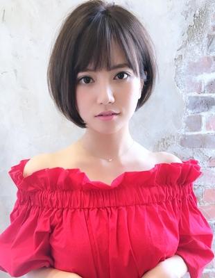 【当日予約OK】新宿アフロート 30代40代50代 大人可愛い丸みショートボブ◎ 【IK169】
