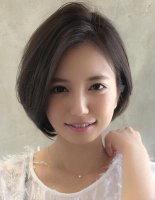 【当日予約OK】新宿アフロート 30代40代50代 大人可愛い丸みショートボブ◎ 【IK171】