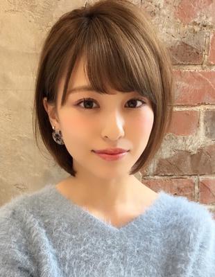 【当日予約OK】新宿アフロート 30代40代50代 大人可愛い丸みショートボブ◎ 【IK173】