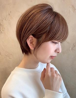 【当日予約OK】新宿アフロート 20代30代40代大人可愛い丸みショートボブ◎ 【IK182】