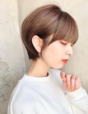 【当日予約OK】新宿アフロート 大人可愛い丸みショートボブ◎ 【IK183】