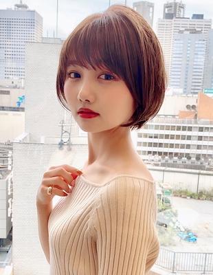 【当日予約OK】新宿アフロート 大人可愛い丸みショートボブ◎ 【IK186】