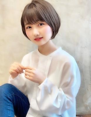 【当日予約OK】新宿アフロート 大人可愛い丸みショートボブ◎ 【IK187】