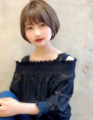 【当日予約OK】新宿アフロート 大人可愛い丸みショートボブ◎ 【IK191】