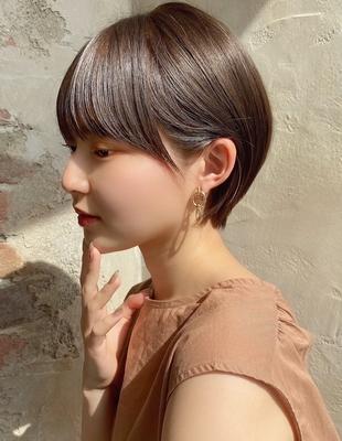 【当日予約OK】新宿アフロート 大人可愛い丸みショートボブ◎ 【IK197】