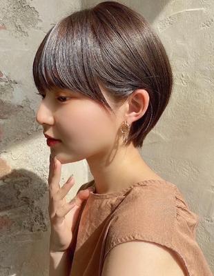 【当日予約OK】新宿アフロート 大人可愛い丸みショートボブ◎ 【IK199】