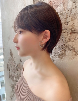 【当日予約OK】新宿アフロート 大人可愛い丸みショートボブ◎ 【IK201】