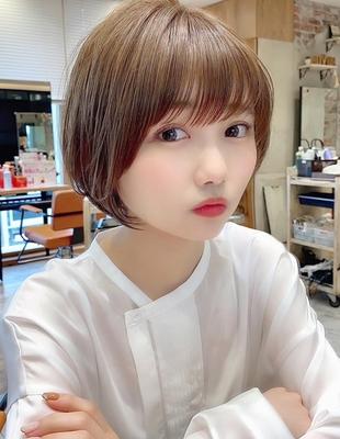 【当日予約OK】新宿アフロート 大人可愛い丸みショートボブ◎ 【IK203】