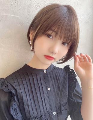【当日予約OK】新宿アフロート 大人可愛い丸みショートボブ◎ 【IK204】