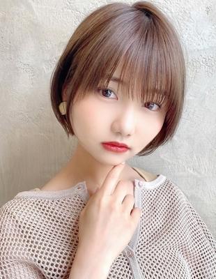 【当日予約OK】新宿アフロート 大人可愛い丸みショートボブ◎ 【IK206】
