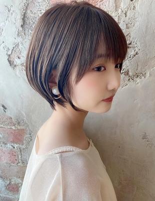 【当日予約OK】新宿アフロート 大人可愛い丸みショートボブ◎ 【IK209】