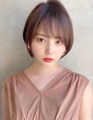 【当日予約OK】新宿アフロート 大人可愛い丸みショートボブ◎ 【IK211】