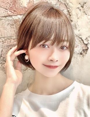 【当日予約OK】新宿アフロート 大人可愛い丸みショートボブ◎ 【IK229】
