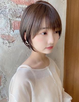 【当日予約OK】新宿アフロート 大人可愛い丸みショートボブ◎ 【IK234】