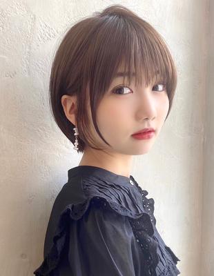 【当日予約OK】新宿アフロート 大人可愛い丸みショートボブ◎ 【IK235】