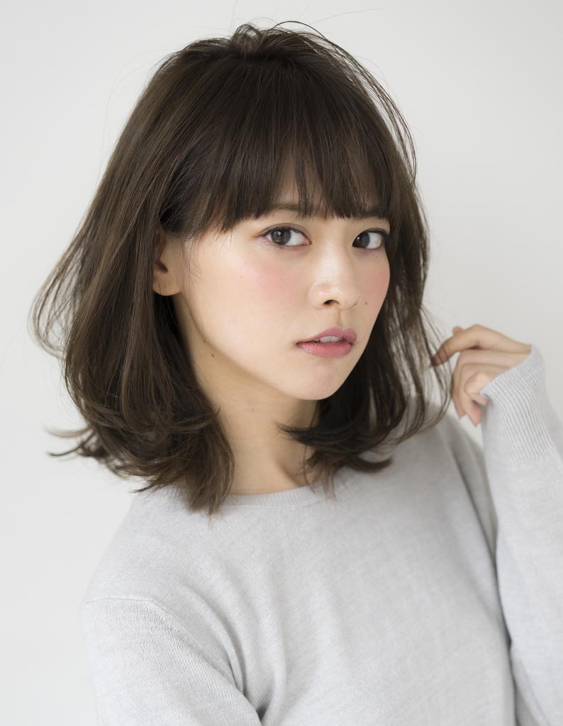 桐谷美玲 桐谷美玲さん風・大人女性のミディアム(SE210)