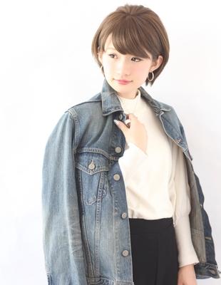 ミセス・大人女子マイナス5歳ショートボブ(KE-555)