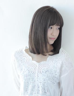 ☆艶さら大人ミディアムストレートスタイル☆(HS245)