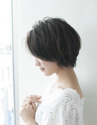 ☆フォルムの綺麗な大人ショートボブ☆(HS248)
