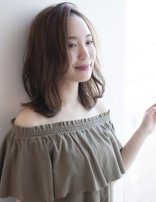 ☆大人な抜け感のあるニュアンスセミディー☆(HS252)