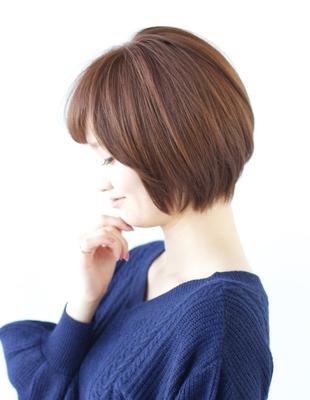大人かわいい小顔モテショートスタイル(NB-98)